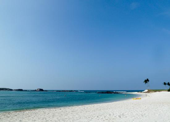 The St. Regis Punta Mita Resort: Private sand beach