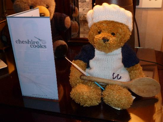 Cheshire Cooks: Ollie Bear with Cheshire Brochure
