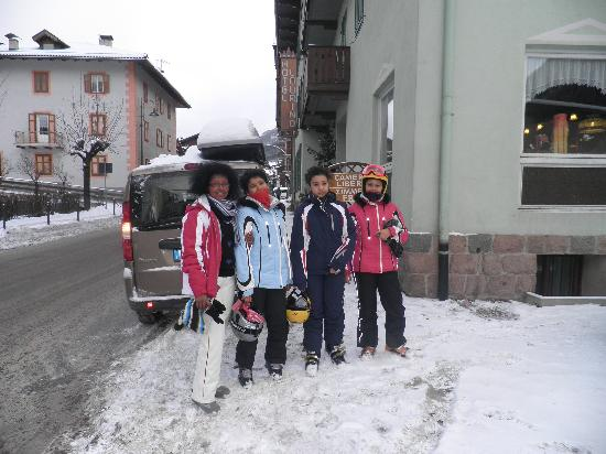 Hotel Laurino: Si va  a Sciare !!!