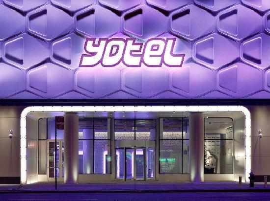 YOTEL New York at Times Square West: front view