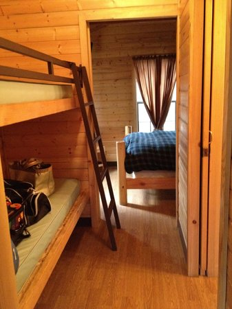 Astoria/Warrenton/Seaside KOA: Bunk Beds and Bedroom