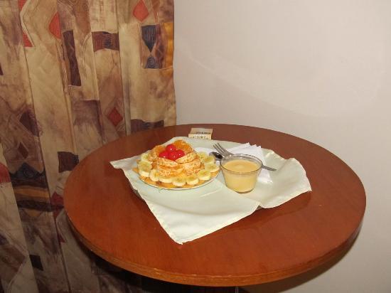 Sol Plaza Hotel Puno: Ensalada de frutas