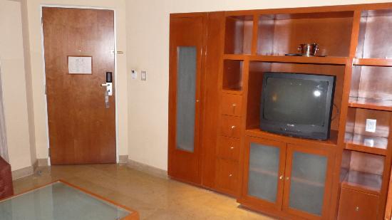 Eurostars Zona Rosa Suites : living de la habitacion