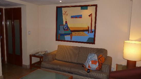 Eurostars Zona Rosa Suites : living habitacion