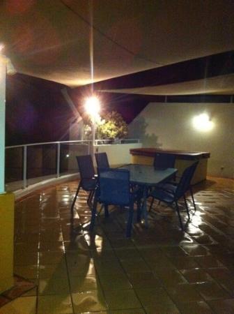 Santorini Twin Waters: Rooftop area