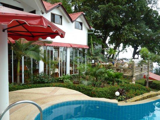 Pauls Restaurant mit Terrasse
