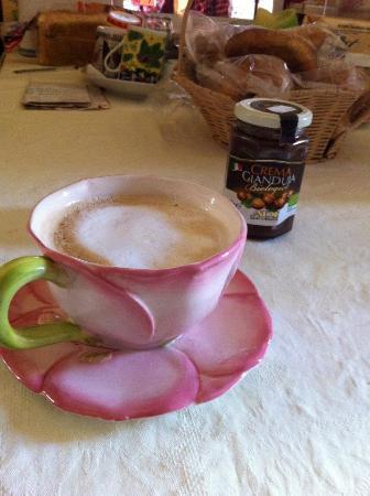 B&B Dante : cafe da manha
