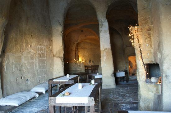 Sextantio Le Grotte della Civita: La chiesa sconsacrata