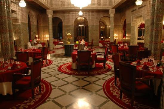 Restaurant du Red House : Salle du restaurant