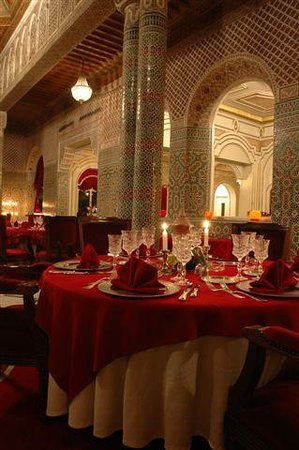 Restaurant du Red House : Salon marocain