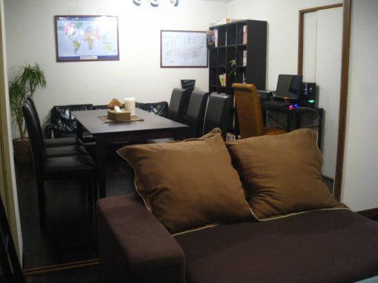 Hostel Ann: Common room