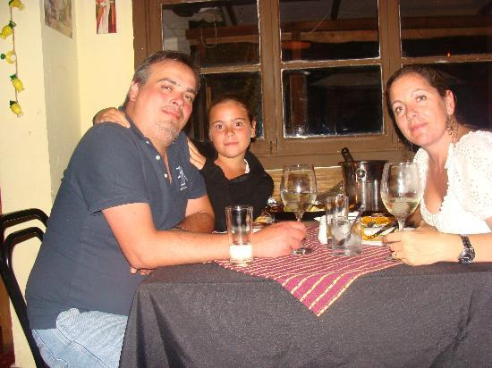 Triana Restaurante: a la mesa....