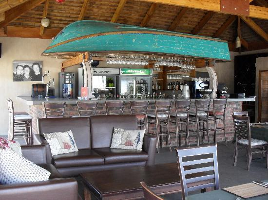 Salinas Beach Restaurant: This is our upper deck bar area