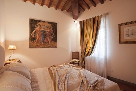 Villa Marcellini: camera appartamento Leonardo