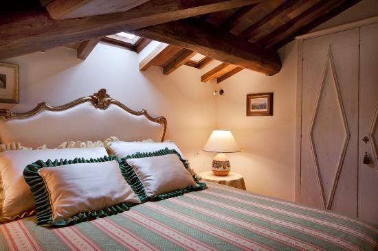 Villa Marcellini: camera soppalco leonardo