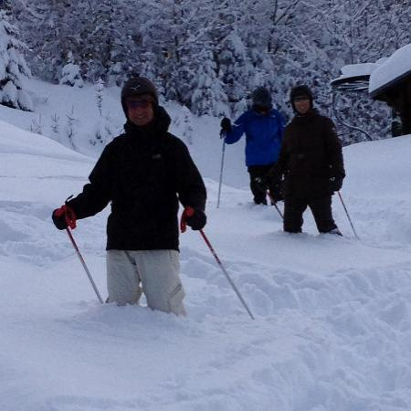 Hotel Chalet d'Antoine: A little bit of powder