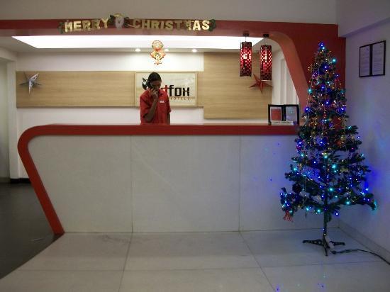 Red Fox Hotel Jaipur: recepción