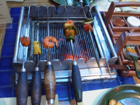 Barbeque Nation: Barbecue on the table