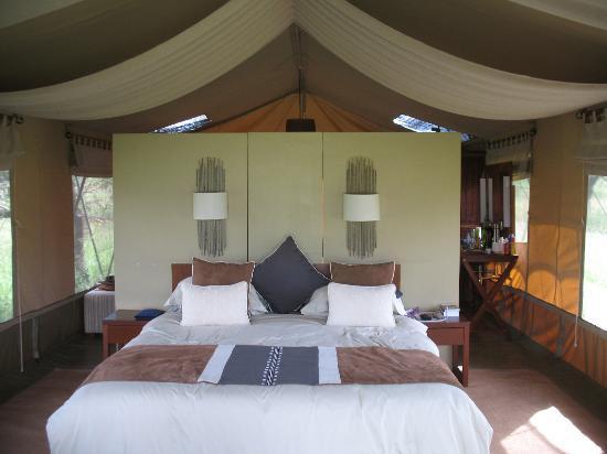 Naboisho Camp, Asilia Africa: unser Zelt
