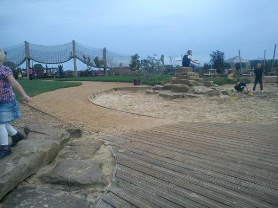 The Web Adventure Park: outside sand area,very good