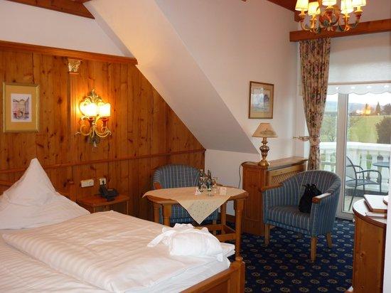 Schloss Hotel Holzrichter: unser Zimmer