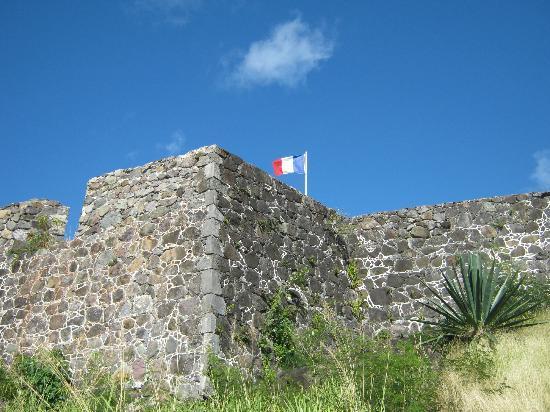 Marigot, เซนต์มาร์ติน / ซินท์มาร์เทิน: the fort