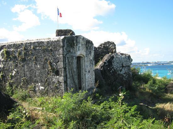 Marigot, เซนต์มาร์ติน / ซินท์มาร์เทิน: more of the fort