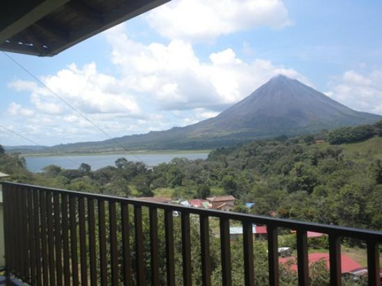 Hotel Castillo del Arenal: View from  the terraze