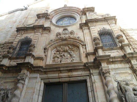 Esglesia de Betlem: particolare della natività
