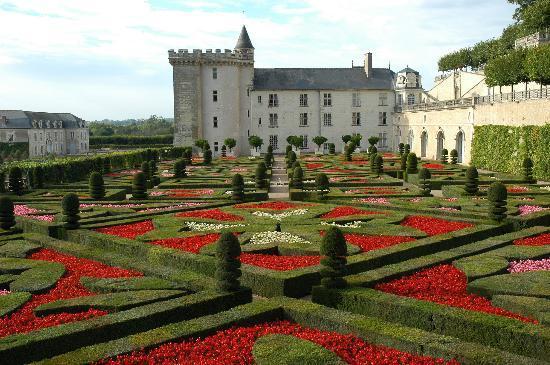Château de Villandry : Les salons d'amour de Villandry