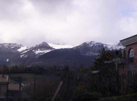 Sarnano, Italien: la montagna