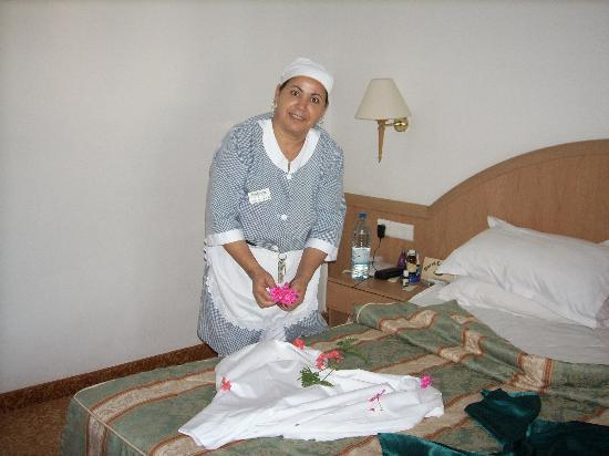 El Mouradi Port El Kantaoui : ma femme de chambre