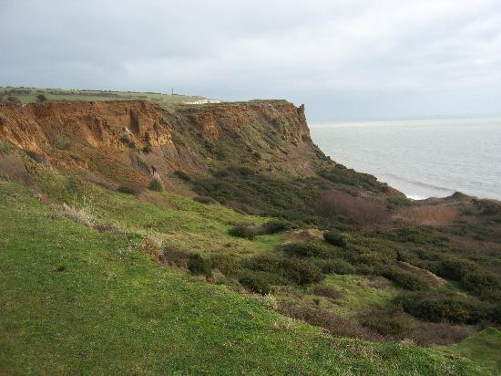 Upper Chine Holiday Cottages & Apartments: View on walk towards Culver Haven Monument