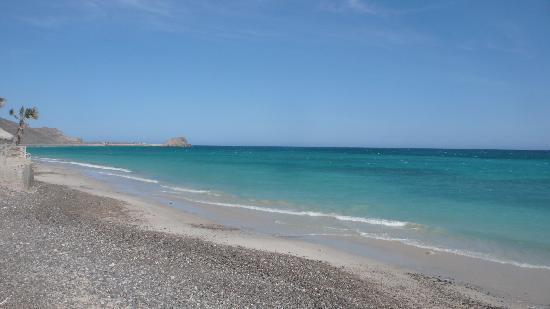 Villa del Faro: Beach