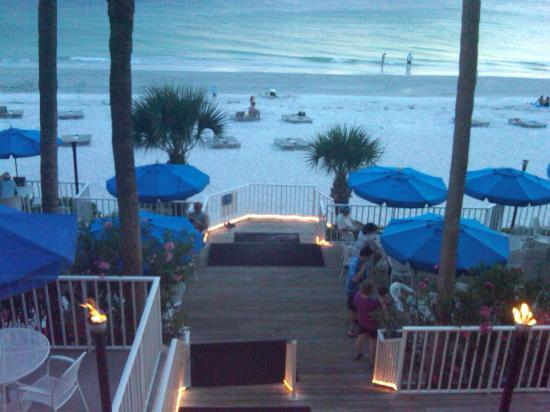 Mangos Restaurant Tiki Bar View From The Deck