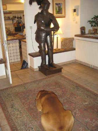 La Ducrie : one of the guard dogs....