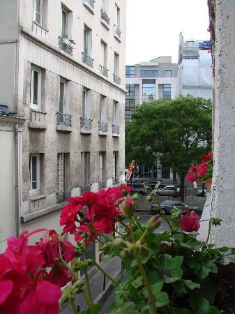 Hotel Les Chansonniers: vista desde la habitacion