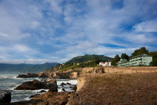 Inn of the Lost Coast: Amazing views!