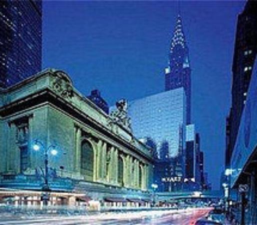 Bathroom picture of grand hyatt new york new york city for Grand tableau new york