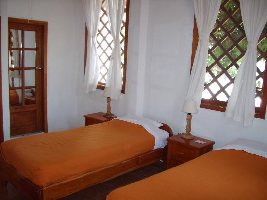 Hotel Mainao: twin room at Mainao hotel Galapagos