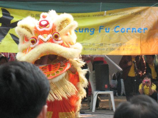 Anne Black Guest House (YWCA): Kung Foo Corne at Kowloon Park