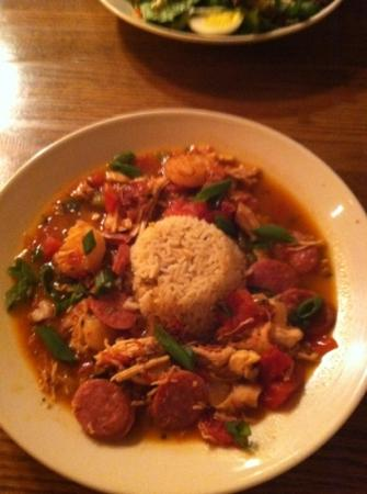 Rock Bottom Restaurant & Brwry: jambalaya