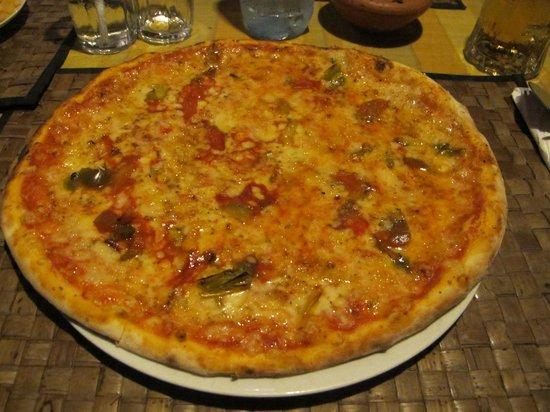 Spaghetti & Co: Pizza nr 17 Feel The Planet