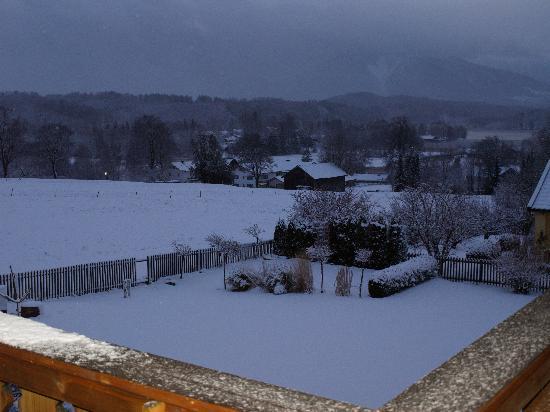 Gästehaus Zum Sommerfrischler: Winteraussicht vom Balkon der Großen Birke