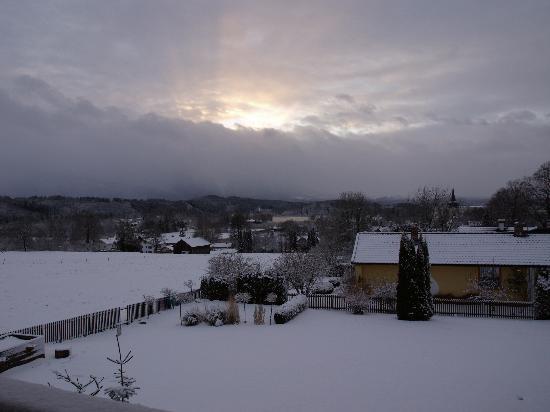 Gästehaus Zum Sommerfrischler: Winterblick vom Sommerfrischler