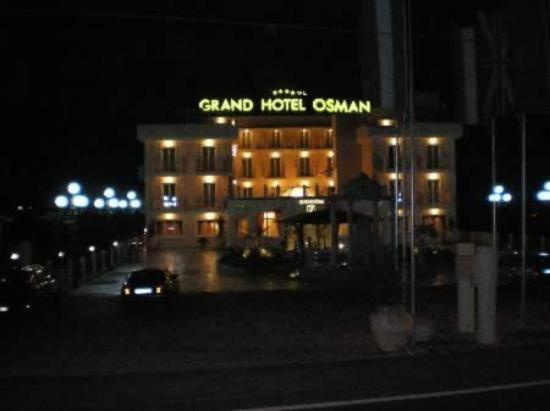 Atena Lucana, Ιταλία: Grand Hotel Osman veduta esterna