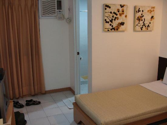 Hotel Pier Cuatro: Zimmer