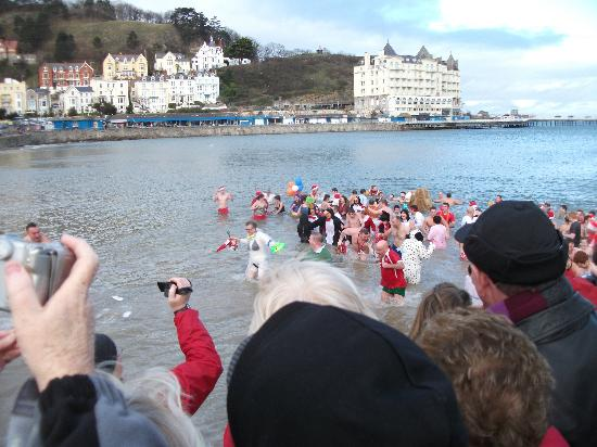 The Clontarf Hotel: The Boxing day swimmers