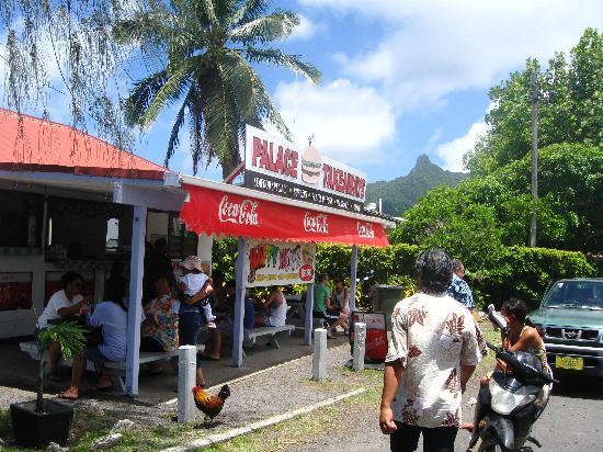 Palace Takeaways, Avarua, Rarotonga