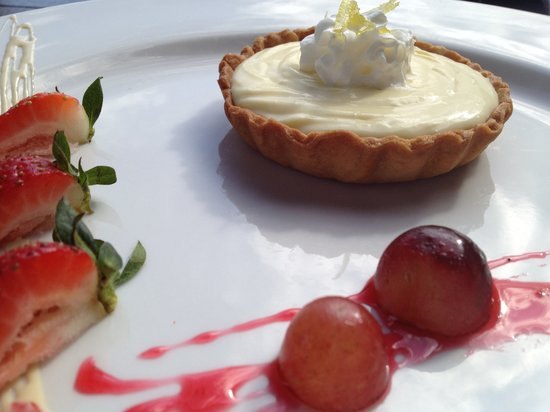 H Restaurant : Lime Tart